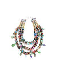 Erickson Beamon - Multicolor Weve Got The Power Tier Necklace - Lyst