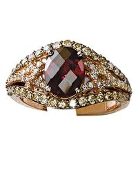 Le Vian | Red 14k Strawberry Gold Rhodolite And Diamond Ring | Lyst