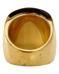 Maiyet | Metallic Chunky Horn Ring | Lyst