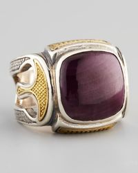 Konstantino | Metallic Ruby Root Ring for Men | Lyst