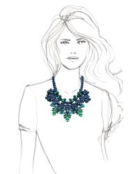 EK Thongprasert - Green Brookin Necklace - Lyst