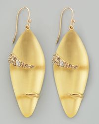Alexis Bittar | Metallic Durban Small Lucite Earrings | Lyst