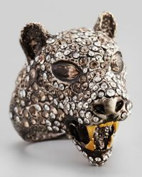 Alexis Bittar | Brown Cordova Jaguar Ring | Lyst
