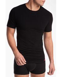 Calvin Klein | Black Cotton Two_pack Briefs for Men | Lyst