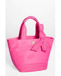 kate spade new york | Pink Flatiron Hana Nylon Tote | Lyst