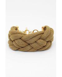 Adami & Martucci | Metallic Mesh Medium Braided Bracelet Nordstrom Exclusive | Lyst