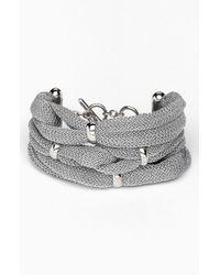 Adami & Martucci | Metallic Mesh Line Bracelet Nordstrom Exclusive | Lyst