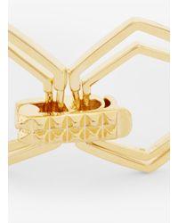Eddie Borgo | Metallic Hexagon-shape Bracelet | Lyst