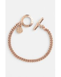 Marc By Marc Jacobs | Pink Toggles Turnlocks Link Bracelet | Lyst