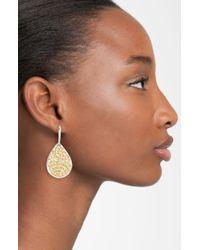 Anna Beck | Metallic Rajua Boxed Small Teardrop Earrings | Lyst