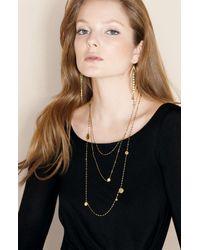 Lana Jewelry   Yellow Tri Disc Necklace   Lyst