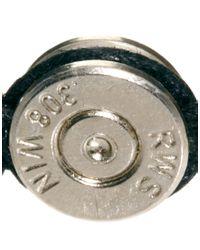 Dogeared - Metallic Lovebullets Silver Bullet Bracelet for Men - Lyst