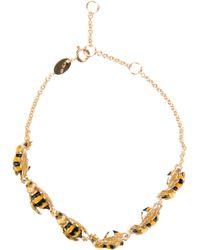 Delfina Delettrez | Yellow 'To Be Or Not To Bee' Bracelet | Lyst