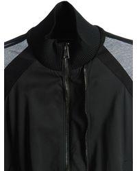 DIESEL - Black Cotton Twill Jacket - Lyst