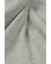 Topshop   Gray Cotton Tunic   Lyst