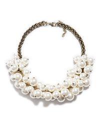 Zara | White Maxi Pearl Necklace | Lyst