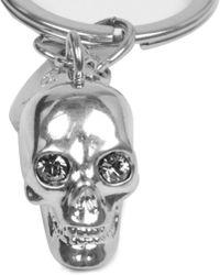 Alexander McQueen | Metallic Skull Key Ring | Lyst