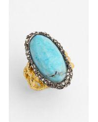 Alexis Bittar | Metallic Elements Cordova Stone Ring | Lyst
