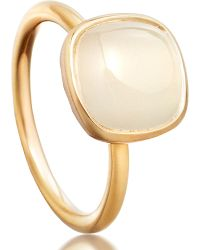 Astley Clarke | Metallic Moonstone Timbrel Ring | Lyst