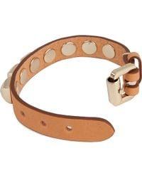 Mulberry | Natural Eliza Wide Bracelet | Lyst