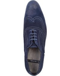Paul Smith | Blue Miller Suede Brogues for Men | Lyst