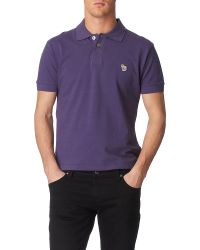 Paul Smith | Blue Zebra Polo Shirt for Men | Lyst