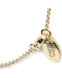 Vivienne Westwood | Purple Plique A Jour Flat Orb Small Pendant Necklace | Lyst