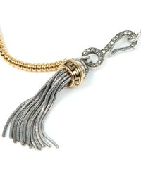 Vivienne Westwood - Metallic Arcadia Tassel Necklace - Lyst