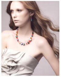 Antica Murrina - Multicolor Solaris - Aventurine And Murano Glass Bead Necklace - Lyst