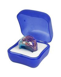Antica Murrina | Metallic Laguna Blue Gold Murano Glass Ring | Lyst