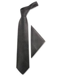FORZIERI | Blue Polkadots Silk Tie & Pocket Square for Men | Lyst