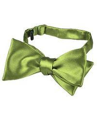 FORZIERI | Light Green Solid Silk Self-tie Bowtie for Men | Lyst