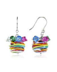FORZIERI | Multicolor Gomitoli - Murano Glass Bead Earrings | Lyst