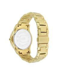 Just Cavalli - White Ice Lady - Golden Sunray Watch - Lyst