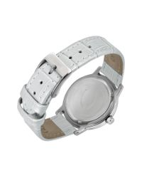 Just Cavalli - White Crystal Lady - Mother Of Pearl Dial Dress Watch - Lyst