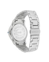 Just Cavalli - Metallic Ice Lady - Silver Sunray Watch - Lyst