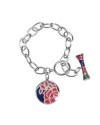 KENZO - Metallic Fedora Sterling Silver Bracelet - Lyst