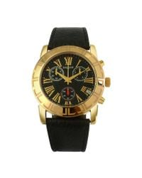 Lancaster - White Mens Leather Strap Chrono Watch for Men - Lyst