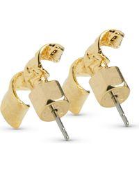 Marc By Marc Jacobs - Metallic Apocalyptic Twist Stud Earrings - Lyst