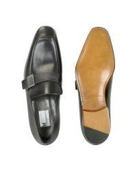 Moreschi - Montecarlo Black Calfskin Loafer Shoes for Men - Lyst