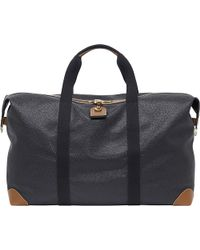 Mulberry | Black Large Clipper Holdall for Men | Lyst