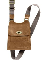 Mulberry | Brown Antony Small Messenger - For Women | Lyst