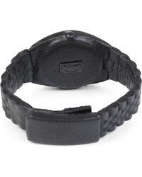 Natalia Brilli - Black Nolex Leather Bracelet - Lyst