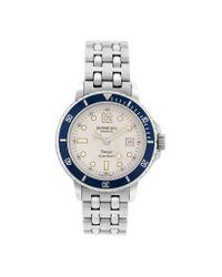 Raymond Weil - Blue Tango Stainless Steel Bracelet Date Watch - Lyst