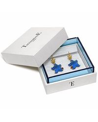 Tagliamonte | Marina Collection - Blue Starfish Rubie & 18k Gold Earrings | Lyst