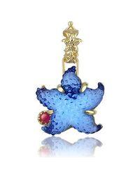 Tagliamonte - Marina Collection - Blue Starfish Ruby & 18k Gold Pendant - Lyst