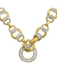 Torrini | Metallic Romance - 18k Gold And Diamonds Necklace | Lyst