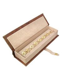 Torrini - Siena Collection - 18k Yellow Gold Link Bracelet - Lyst
