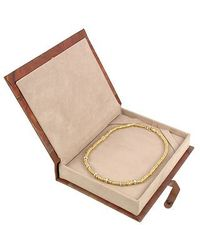 Torrini - Rondelle Moving Big - 18k Yellow Gold And Diamond Necklace - Lyst
