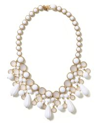 Banana Republic - White Anchors Away Necklace - Lyst